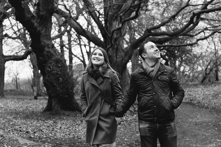 Engagement shoot Edinburgh