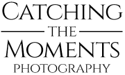 Wedding photographer Edinburgh | Catching the Moments Photography logo